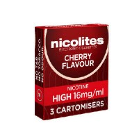 Nicolites cartomisers cherry