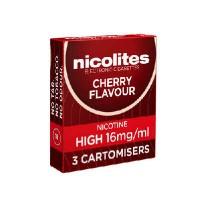Nicolites cartomisers cherry