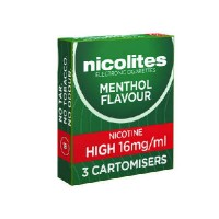 Nicolites cartomisers menthol
