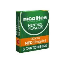 Nicolites cartomisers medium