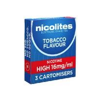 Nicolites refills tobacco high