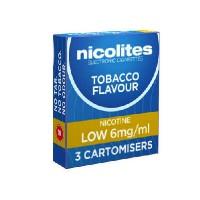 Nicolites refills low